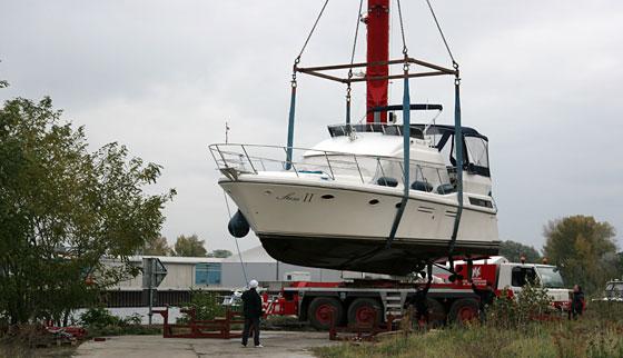 Ende der Hausbootsaison 2010