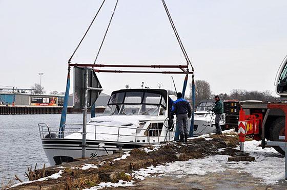 Hausboot im Wasser