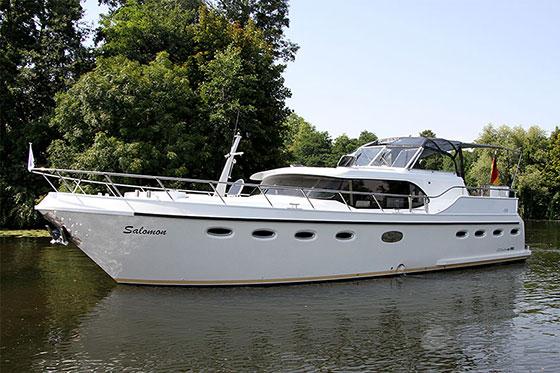 Hausboote von Schoners Wehr auf der Boot 2014