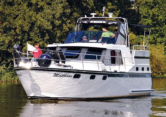 Verkauf von gut gepflegten Hausbooten