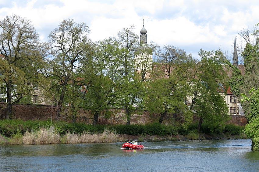 erste Boote auf der Havel